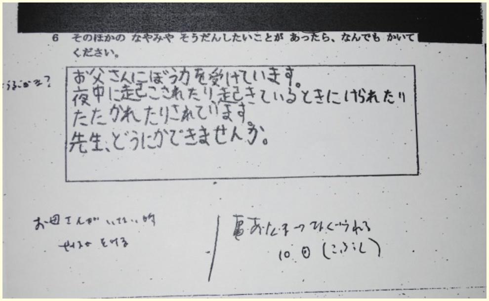 心愛,みあ,千葉県野田市,アンケート,教育委員会