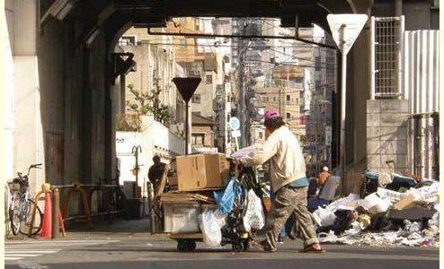 【画像】西成地区(あいりん地区)とは?治安悪すぎで危険?大阪のスラム街