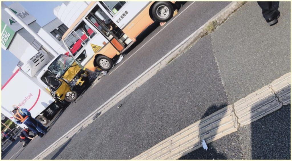熊本,幼稚園バス,多重事故,原因,トラック運転手,病気,急死