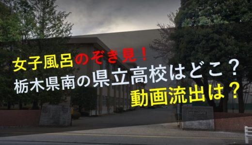 女子風呂のぞき見したのは栃木県立小山高校?ホテルの場所や動画流出は?
