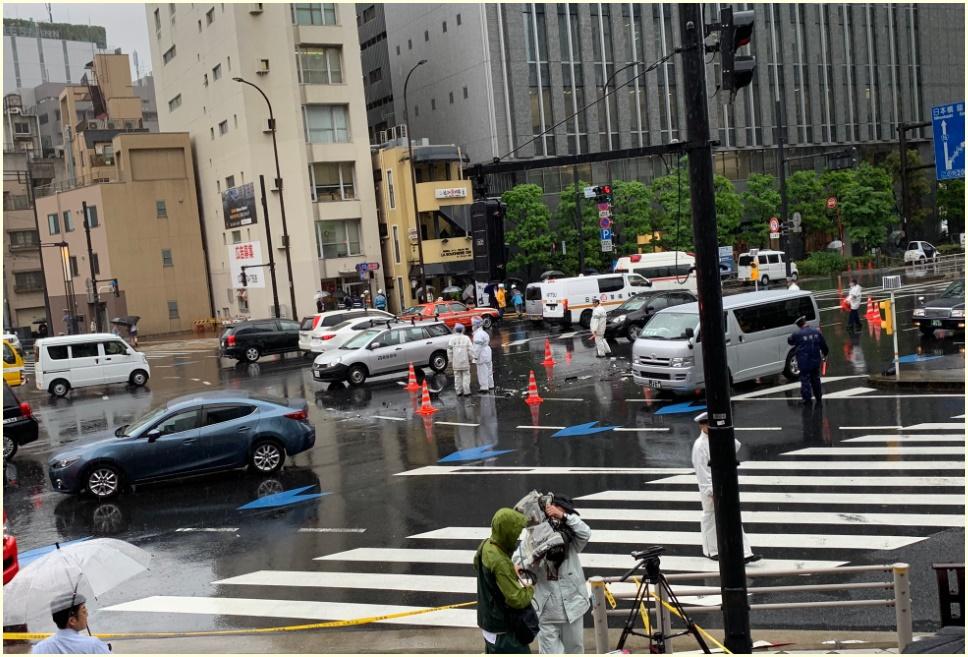 画像,新橋四丁目,事故,原因,信号無視,現場,状況,場所