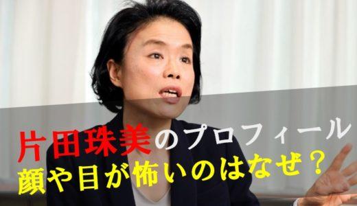 【画像】片田珠美の顔や目が怖い!原因や理由は病気?川崎殺傷事件で注目