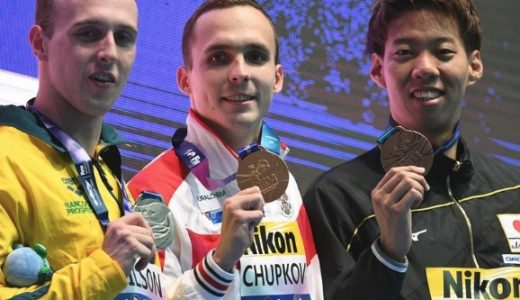 渡辺一平の経歴や父親(家族)は?LDH所属で世界記録保持者?世界水泳銅メダル