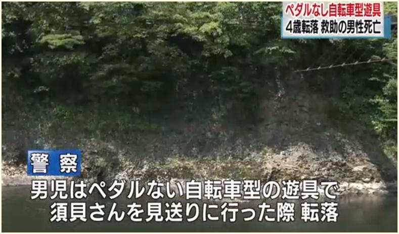 新潟県関川村,転落事故,須貝秀之,顔画像,男児の関係,事故現場,どこ,鷹の巣橋