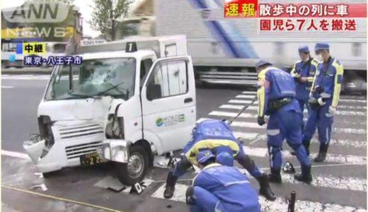 【八王子事故】軽自動車運転手の名前や顔画像!原因は?ワールドビジョンの配送車