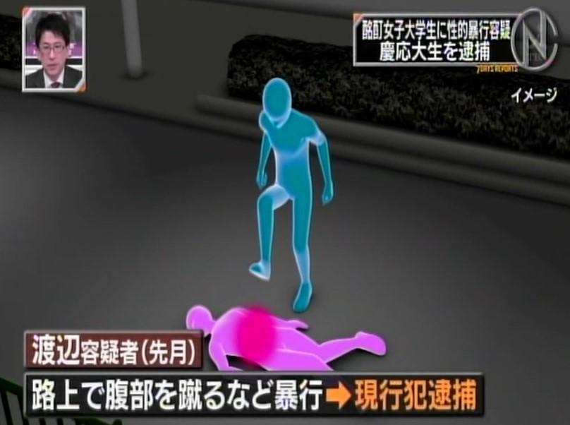 渡辺陽太容疑者の一回目の逮捕